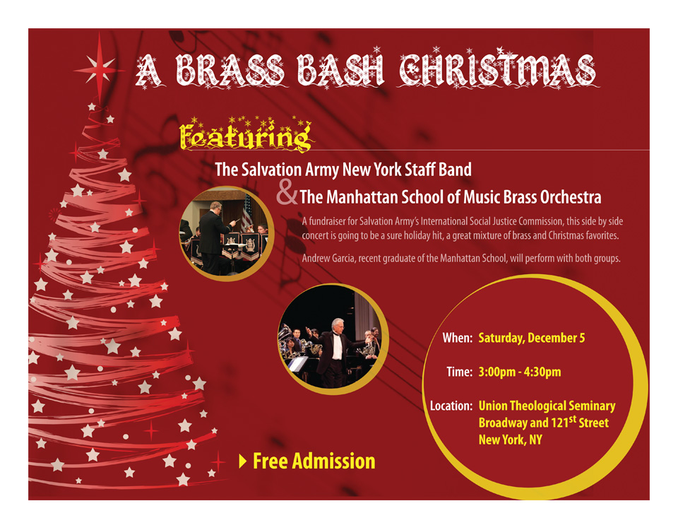 Brass Bash Concert Promotion