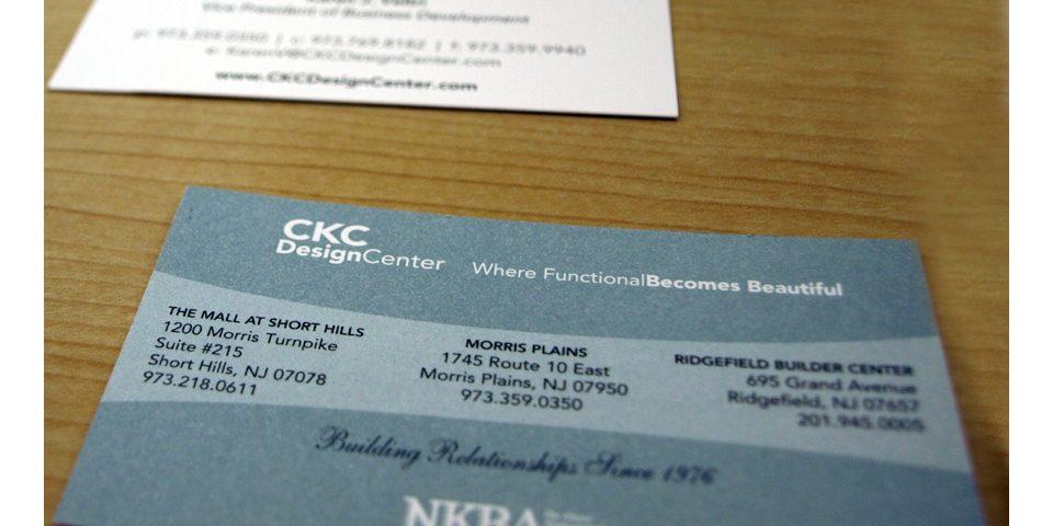 CKC Design Center Business Card
