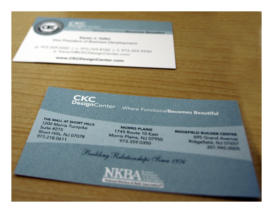 CKC Design Center Business Card
