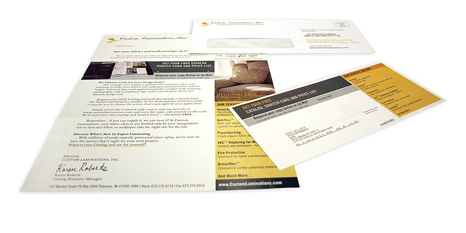 Direct Mail Promotions