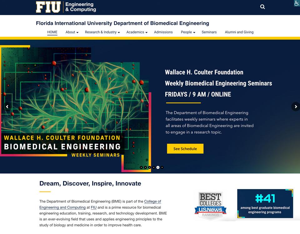 Biomedical Engineering Department at Florida International University