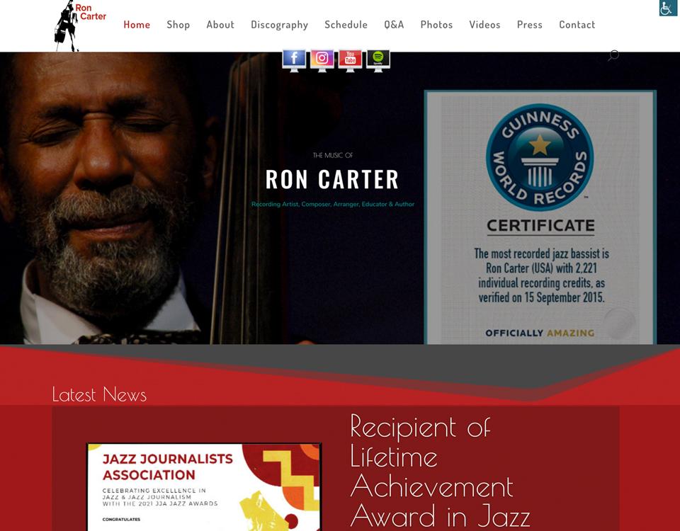 Jazz Master Bassists Sir Ron Carter